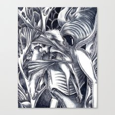 Only in Our Nightmares Canvas Print