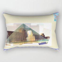 bonjour la France Rectangular Pillow