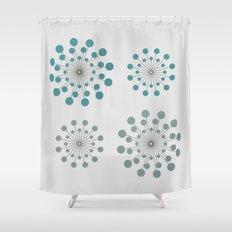 Circles - 9 Shower Curtain