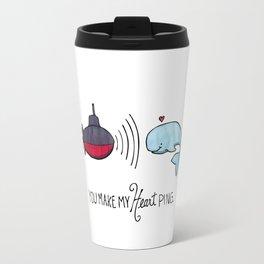 You Make My Heart Ping Travel Mug