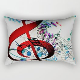 Music Music Music! Rectangular Pillow