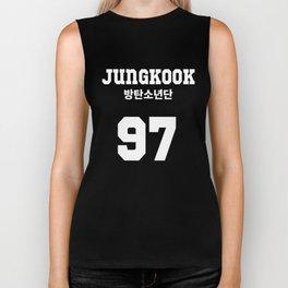 BTS - Jungkook Jersey Biker Tank