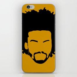 yellow orange iPhone Skin
