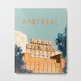 Montreal Five Roses Metal Print
