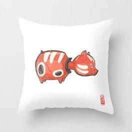 Akabeko [Special Lucky Toy Box] Throw Pillow