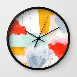 abstract painting XVI Wall Clock