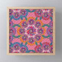 Mandala Circus Framed Mini Art Print
