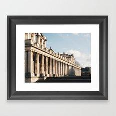 Greenwich Building. England. Framed Art Print