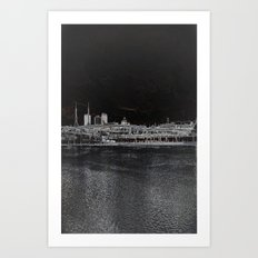 east side Art Print