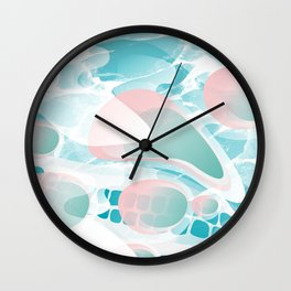This life is like a swimming Pool. Wall Clock