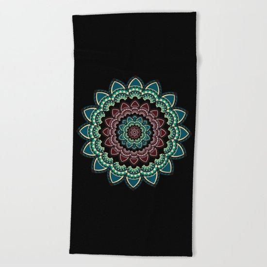 Mandala I Beach Towel
