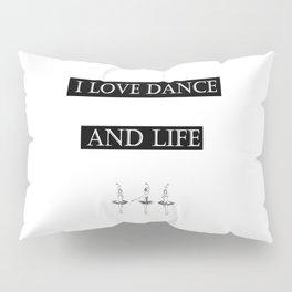 I Love... black 2 Pillow Sham