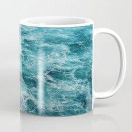 Blue Ocean Waves Coffee Mug