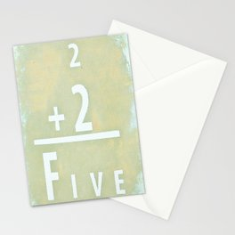 """If everybody believes it, does that make it true?"" Stationery Cards"