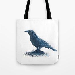 Blue crow Tote Bag