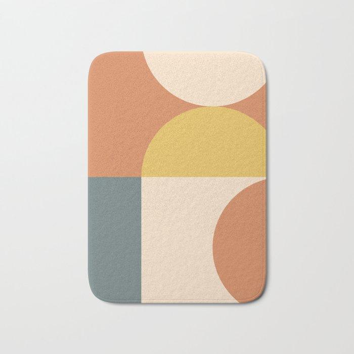 Abstract Geometric 04 Bath Mat