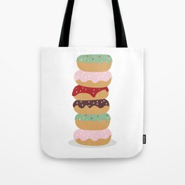 Mountain of Donuts in my Dream Tote Bag