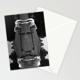 Black & White Arabian Horses Stationery Cards