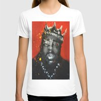 biggie smalls T-shirts featuring Biggie Smalls by Larry Caveney