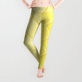 Herringbone Gradient Yellow Leggings