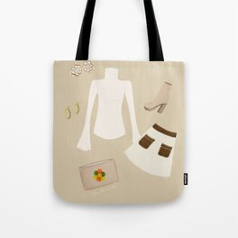 Retro Outfit Tote Bag