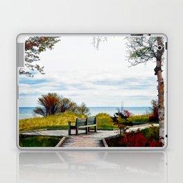Lone Bench 1 Laptop & iPad Skin