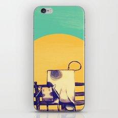 Cow Sunset iPhone & iPod Skin