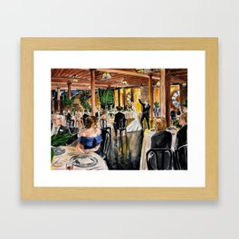 Erin & Joel Wedding 2.23.19 Framed Art Print