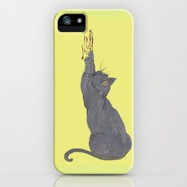 Cat love hurts  iPhone Case
