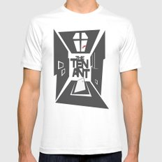 The Tenant White Mens Fitted Tee MEDIUM