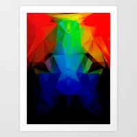 frog Art Prints featuring FROG by ED design for fun