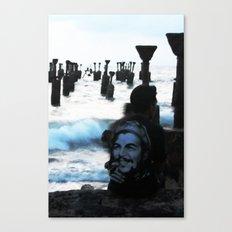 Che by the sea Canvas Print