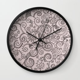 Absentminded Wall Clock