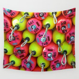 Floats By The Sea Wall Tapestry