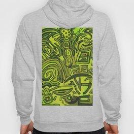 Green symbols Hoody