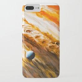 Clouds of liquid paint iPhone Case