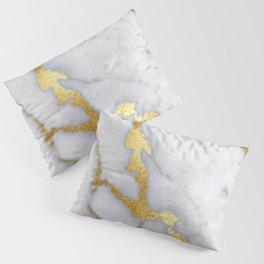 Italian gold marble II Pillow Sham
