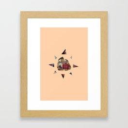 The Speaker Framed Art Print