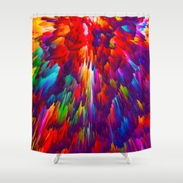 Treacherous Betrayal Shower Curtain