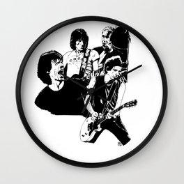 RollingStones Portrait Wall Clock