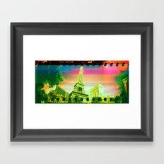 Las Vegas   Project L0̷SS   Framed Art Print