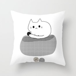 cat 583 Throw Pillow