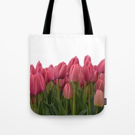 Tulips Field #7 Tote Bag