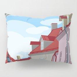 Tiled roofs Pillow Sham