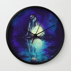 MOONCHILD Wall Clock