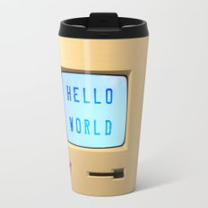 Hello World Personal Computer Travel Mug