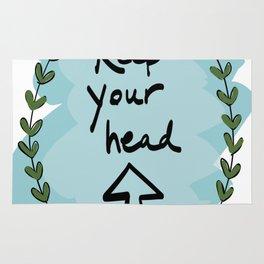 Keep Your Head Rug