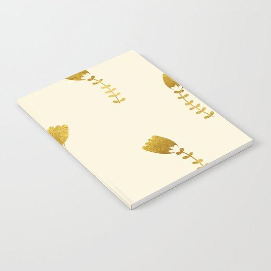 Cream Gold Foil 03 Notebook