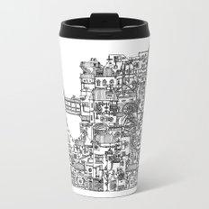 Busy City V Travel Mug
