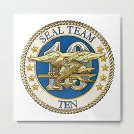 Navy SEAL Team 10 Metal Print